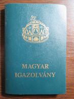 Hungary Passport Expired - Documentos Históricos