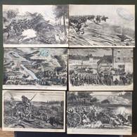 Bataille De Sedan, (1er Sept 1870) ; 6 CP - Sedan