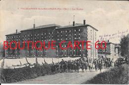 62 - VILLELONGE DE LA SALANQUE  - LES ECOLES - Andere Gemeenten