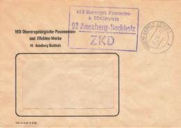 DDR Brief ZKD VEB Effekten Werke Annaberg Buchholz 1967 - Official