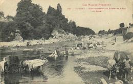 Les Basses Pyrénées ORTHEZ  Blanchisseuses Et Porteurs D'eau Au Gave (Attelages Boeufs) Labouche RV - Orthez