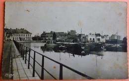 CARTE CONDE SUR ESCAUT - 59 - LE CANAL DE MONS - SCAN RECTO/VERSO - 3 - Conde Sur Escaut