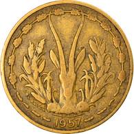 Monnaie, French West Africa, 10 Francs, 1957, TB+, Aluminum-Bronze, KM:8 - Togo