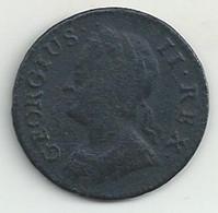 Angleterre - Farthing - 1744 - B/TB - Autres