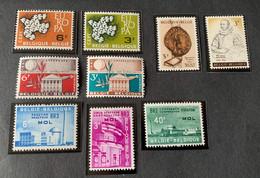 1961 - Mix  - Postfris/Mint - Unused Stamps