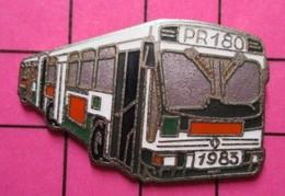 SP01 Pin's Pins / Beau Et Rare / THEME : TRANSPORTS / AUTOBUS URBAIN ARTICULE PR180 DE 1983 Par COINDEROUX CORNER - Transportation