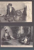 Asie / Indo-Chine / Tonkin / Lot De 2 CP / Femme Fumant La Pipe à Eau, Le Kedillot - Other