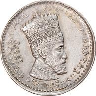 Monnaie, Éthiopie, Haile Selassie I, 25 Matonas, 1931, TTB, Nickel, KM:30 - Ethiopia