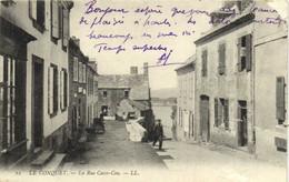 LE CONQUET  La Rue Casse Cou RV - Le Conquet