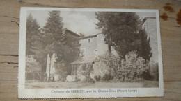 Chateau De BERBEZIT Par LA CHAISE DIEU, Carte Lettre ................ PHI-4293 - Otros Municipios