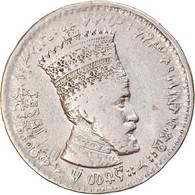 Monnaie, Éthiopie, Haile Selassie I, 50 Matonas, 1931, TB, Nickel, KM:31 - Ethiopia