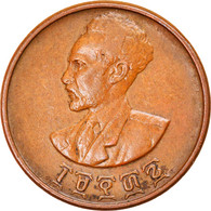 Monnaie, Éthiopie, Haile Selassie I, 5 Cents, Amist Santeem, 1944, TTB, Cuivre - Ethiopia