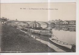 CPA-40-Landes- DAX- La Dragueuse Et Le Pont Nouvellement élargi- - Dax