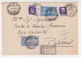 Cover Lettera Regno -Viaggiata Italy Italia - Storia Postale