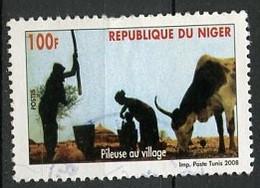 Niger 2008 Y&T N°1674 - Michel N°(?) (o) - 100f Travaux Domestiques - Niger (1960-...)