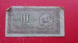Gospodarska Banka Za Istro,Reko In Slovensko Primorje.10 Lir-10 Lire-10 Lira - Yugoslavia