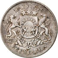 Monnaie, Latvia, 2 Lati, 1926, TTB, Argent, KM:8 - Latvia