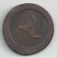 Ile De Man - Demi Penny - 1798 - B/TB - Autres