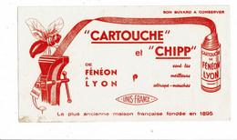 Buvard FENEON Cartouche Et Chipp Attrape Mouches Unis France JOLIE MOUCHE - Wassen En Poetsen