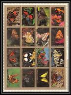 613 - Umm Al Qiwain MNH ** Mi N° 1498 / 1513 A Bloc Papillons (moths And Butterflies Papillon) - Umm Al-Qiwain