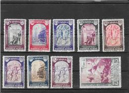 Spain 1940, Virgen Del Pilar, Air Mail Short Set Of 9 Stamps **mint Nh, See Description ( Ref 1167) - 1931-50 Nuevos & Fijasellos