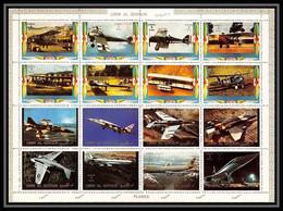 610 - Umm Al Qiwain MNH ** Mi N° 1274 / 1289 A Bloc Avion (plane Aeroplanes Avions) Concorde - Umm Al-Qiwain