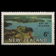 NEW ZEALAND 1969 - Scott# 428 Islands Bay 6c LH - Unused Stamps