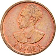 Monnaie, Éthiopie, Haile Selassie I, 10 Cents, Assir Santeem, 1944, SUP+ - Ethiopia