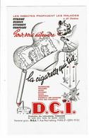 Buvard Laboratoire TORRASME D.C.I. La Cigarette Qui Tue Pour Vous Défendre Chien Vache Mouches Moustiques Araignées - Wassen En Poetsen