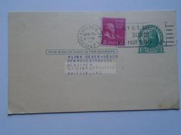 D178789 USA -Uprated Postal Stationery Cancel - 1947 Philadelphia The Curtis Publ. Comp. To  - MENZIKEN Switzerland - 1941-60