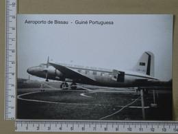PORTUGAL - AEROPORTO DE BISSAU -  GUINÉ PORTUGUESA -   2 SCANS  - (Nº42439) - Guinea-Bissau