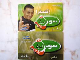 2 CARDS    SPECIMEN YEMEN   MINT - Yemen