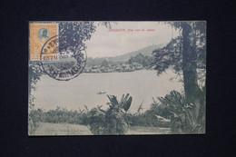 SIAM - Affranchissement Chulalongkorn 1er Sur Carte Postale De Singapore Pour Paris En 1912  - L 96766 - Siam