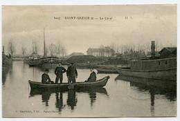 CPA 52 3007 SAINT DIZIER Le Canal    écrite - Saint Dizier