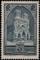FRANCE 259 I ** MNH Cathédrale De Reims Type I (CV 135 €) - Unused Stamps