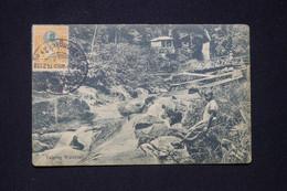 SIAM - Affranchissement Chulalongkorn 1er De Bangkok Sur Carte Postale Pour Paris En 1912  - L 96769 - Siam