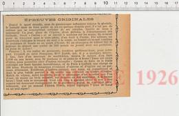 Article 1926 Paris Fous Records Madame Dublé Spa Sandwiches Jeu Billard Parapluie Patrick Diwes Viande Boeuf 216-10WC - Unclassified