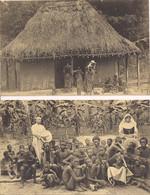 """ST.TRUDON-BELGISCH CONGO """"2PK MALADES A L'HOPITAL-AU LAZARET"""" PROPRIETE DE SCHEUT - Belgisch-Congo - Varia"""