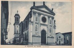 Cartolina - Postcard /  Viaggiata - Sent /  Verona - S. Massimo All' Adige, La Chiesa. - Verona