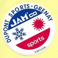 AUTOCOLLANT STICKER - DUPONT SPORTS 62386 GRENAY - JAM'CO - PAS-DE-CALAIS - Stickers