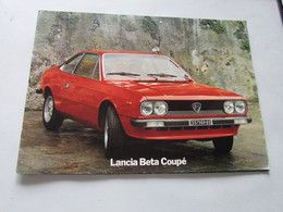 Lancia Beta Coupé - Magazines