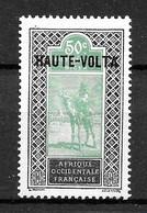 Haute Volta Colonie : N° 13 Neuf **  TB (cote 4,55 €) - Ungebraucht