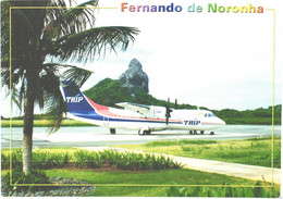 Brasil:Fernando De Noronha Airport, Airfield, Airplane - Aerodromes