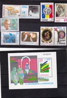 Andorre Espagnol 1993 1994 Années Complètes 221 à 230 Bf à La Place Du 226 (226 Sur Deman Poste Neuf ** MNH Sin Charmela - Unused Stamps