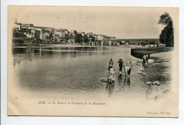 81 ALBI Lavandieres Laveuses Au Travail Bords Du Tarn Faubourg De La Madeleine 1900 Dos Non Divisé    D06 2021 - Albi