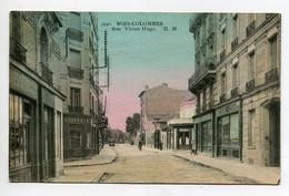92 BOIS COLOMBES Rue Victor Hugo  Commerce Coiffeur   écrite 1944 Timbrée   D06 2021 - Autres Communes