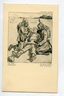 MILITARIA Raemaeckers  Propagande Anti Allemande Barbares Noirs Les Bons Samaritains D'Afrique    D09 2021 - Guerra 1914-18