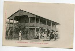 MADAGASCAR DIEGO SUAREZ La Poste Arrivée Du Courrier Animation 1900 Dos Non Divisé  D09 2021 - Madagaskar