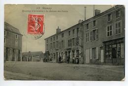 """55 STENAY  Carte RARE Quartier D'Artillerie Le Bureau Des Postes  Commerce """" Renault -Simon """" Bel Aspect Glacé  D09 2021 - Stenay"""