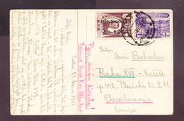 PE-05 Open Letter From Peru To Czecoslovakia. - Perù
